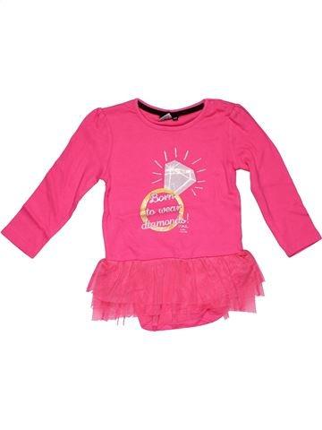 Long jumpsuit girl JULIENMCDONALD pink 2 years winter #10255_1