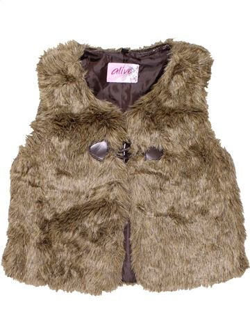 Blazer girl ALIVE brown 10 years winter #11017_1