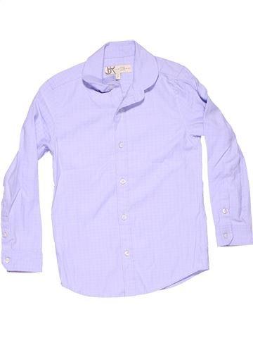 Long sleeve shirt boy MARY LEBONE white 7 years summer #11236_1