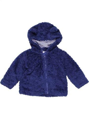 Sweatshirt unisex BLUEZOO blue 12 months winter #11331_1