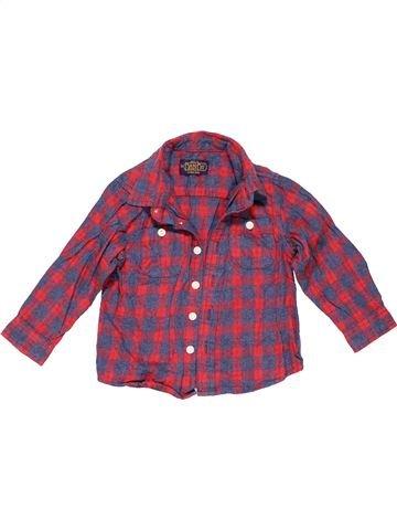 Long sleeve shirt boy ZARA purple 18 months summer #1138_1