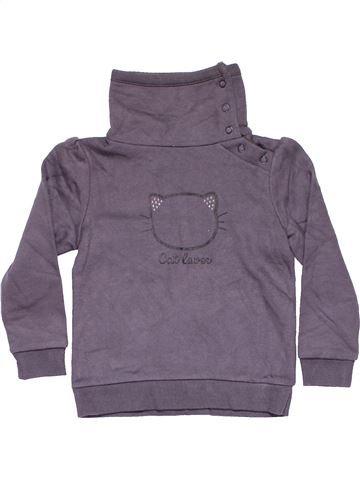 Sweatshirt girl PALOMINO purple 4 years winter #11399_1