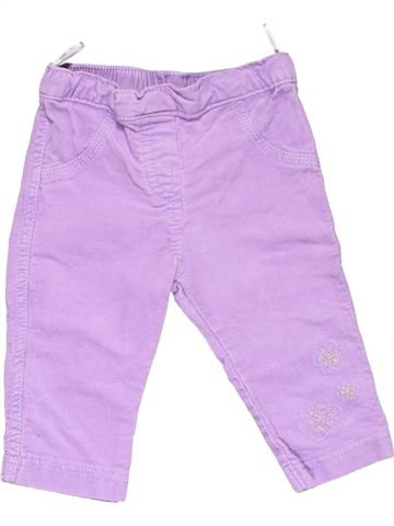 Trouser girl BABY CLUB pink 6 months winter #11459_1