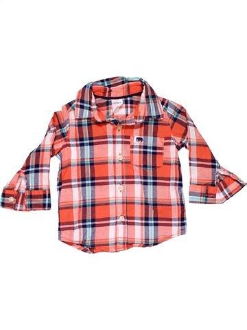 Long sleeve blouse boy CARTER'S pink 6 months winter #11481_1