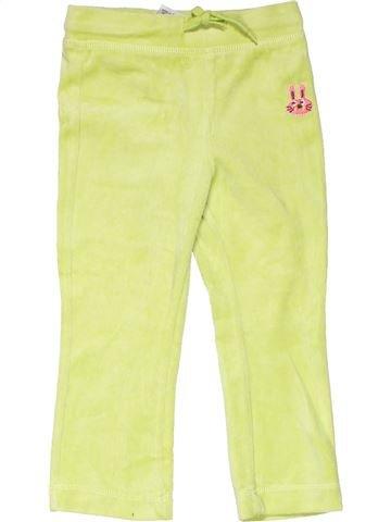 Trouser girl PAPAGINO green 18 months winter #11932_1