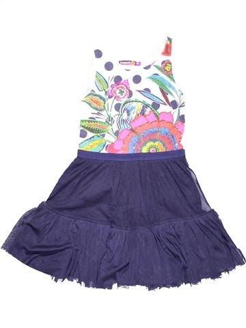 Dress girl DESIGUAL purple 10 years summer #11954_1