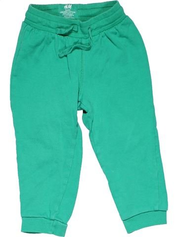 Trouser unisex H&M green 12 months winter #11994_1