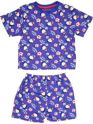 2 pieces Pyjama boy PRIMARK purple 5 years winter #12227_1