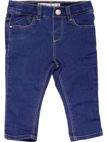 Jeans girl ZARA blue 9 months winter #12611_1