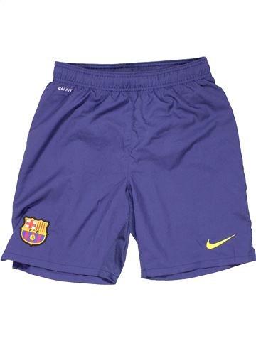 Sports short boy NIKE purple 13 years summer #13007_1