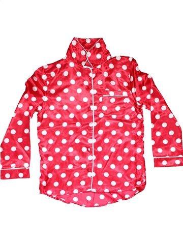 2 pieces Pyjama girl NO BRAND pink 9 years summer #13169_1