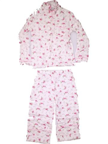 2 pieces Pyjama girl BELMONT COLLECTION white 10 years winter #13389_1
