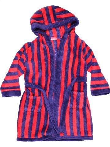 Bathrobe boy MINICLUB purple 4 years winter #1351_1