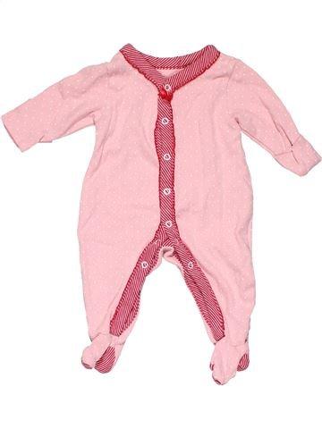 Long jumpsuit girl MARKS & SPENCER pink new born winter #13562_1