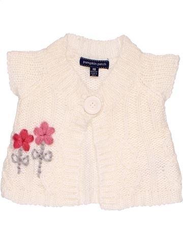 Vest girl PUMPKIN PATCH white new born winter #13753_1