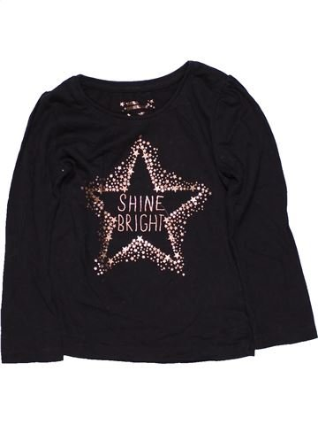 Long sleeve T-shirt girl YOUNG DIMENSION black 2 years summer #13805_1