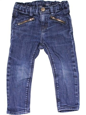 Jeans girl NO BRAND blue 2 years winter #14606_1