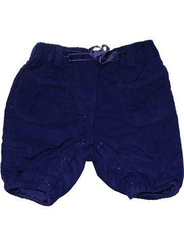 Trouser girl PRENATAL purple 3 months winter #14612_1