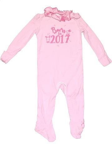 Long jumpsuit girl F&F BABY pink 9 months winter #14732_1