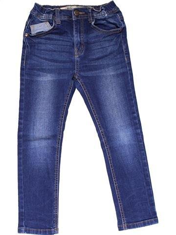 Jeans girl PRIMARK blue 7 years winter #14850_1