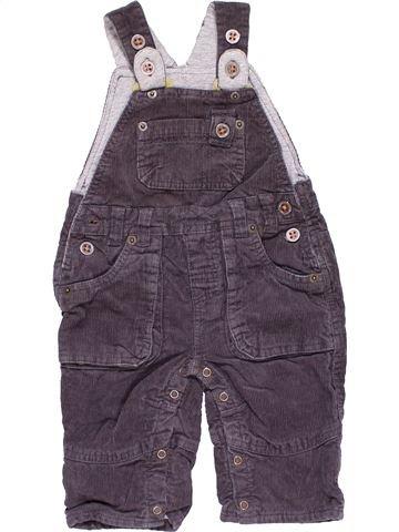 Short jumpsuit boy JOHN LEWIS purple 6 months winter #15152_1