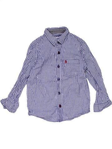 Long sleeve shirt boy REBEL gray 6 years winter #15163_1