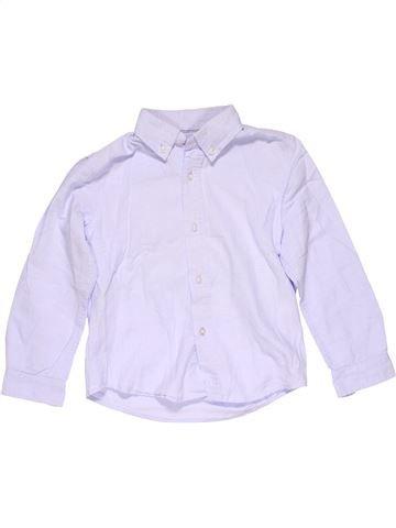 Long sleeve blouse boy ZARA white 4 years winter #15168_1