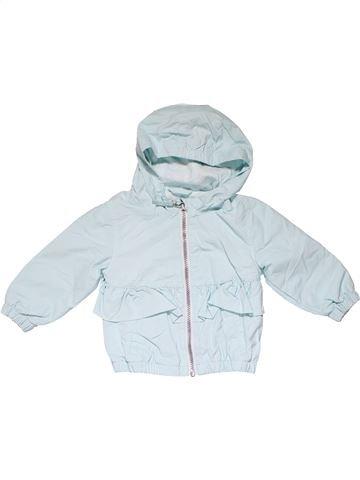 Jacket girl NEXT gray 9 months winter #15237_1