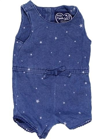 Dungaree girl EARLY DAYS blue 3 months summer #15246_1