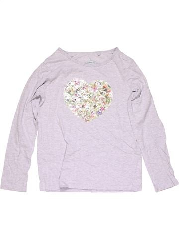 Long sleeve blouse girl FAVOURITE TEE white 11 years winter #15362_1