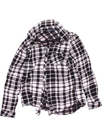 Long sleeve shirt boy NEW LOOK gray 11 years winter #15372_1