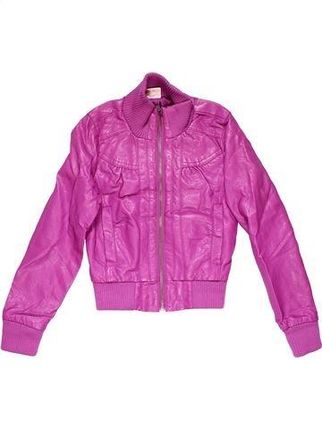 Jacket girl YGGA pink 10 years winter #15454_1