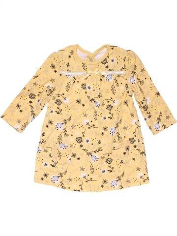 Dress girl GEORGE beige 9 months winter #15531_1