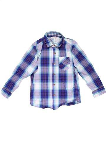 Long sleeve shirt boy MARKS & SPENCER gray 6 years summer #15693_1