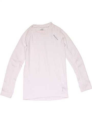 Sportswear girl QUECHUA white 10 years winter #15876_1