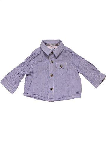 Long sleeve shirt boy MONSOON purple 6 months summer #16055_1