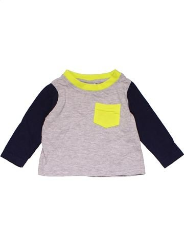 Long sleeve T-shirt boy BABY pink 3 months summer #16115_1