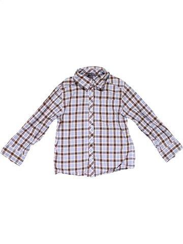 Long sleeve shirt boy H&M white 4 years summer #16881_1