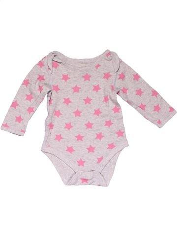 Long jumpsuit girl M&S pink 9 months winter #16945_1
