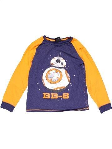 Long sleeve T-shirt boy STAR WARS purple 10 years winter #17161_1