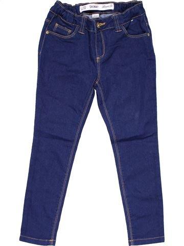 Jeans girl DENIM CO blue 7 years summer #17198_1