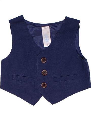 Vest boy BABY CLUB blue 1 month summer #17497_1