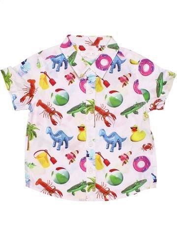 Long sleeve T-shirt boy NEXT white 6 months summer #1752_1