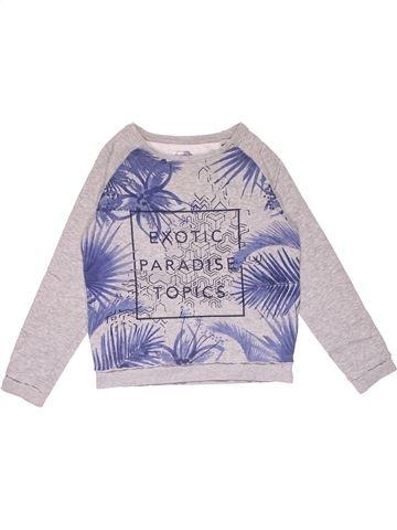 Sweatshirt girl EXOTIC PARADISE white 10 years winter #17842_1