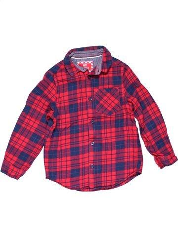 Long sleeve shirt boy PRIMARK purple 6 years winter #17917_1