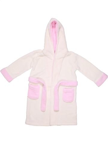 Dressing gown girl BABY TOWN white 2 years winter #1839_1