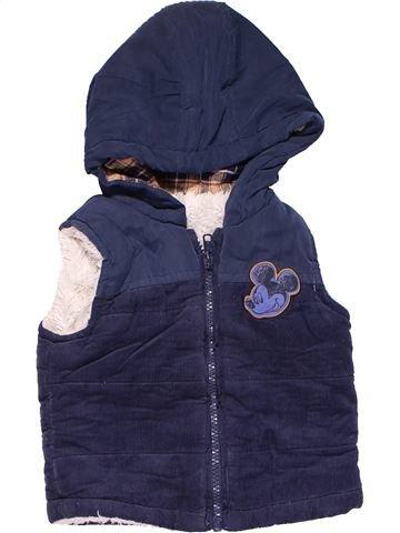 Vest boy GEORGE blue 6 months winter #18539_1
