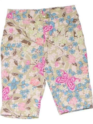 Trouser girl MINI MODE pink 6 months summer #18677_1