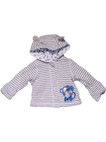 Sweatshirt boy EARLY DAYS white 3 months winter #18713_1