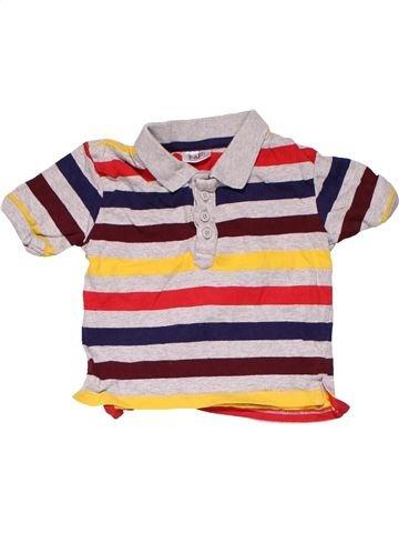 Short sleeve polo shirt boy F&F blue 9 months summer #18746_1